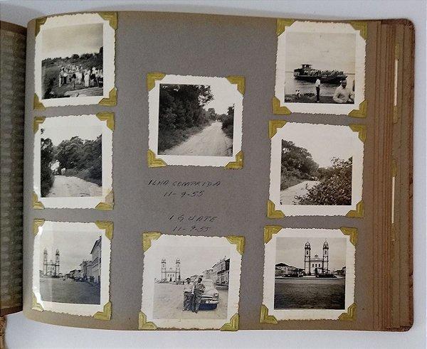 Album C/ Fotografias Familiares com Imagens de  Ilha Comprida, Iguape e Outros,  Capa Img do Rio Janeiro