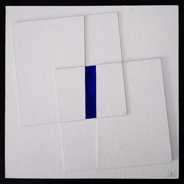 Rones Dumke - Arte Original, Colagem Tridimensional Assinada e Monogramada