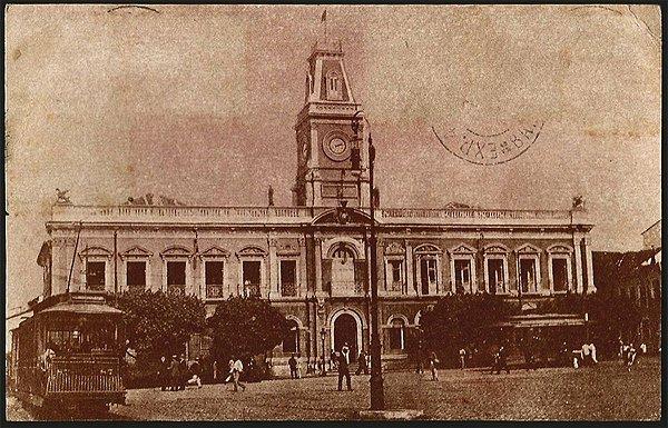 Bahia  - Intendência Municipal -  Cartão Postal Tipográfico Antigo Original de 1921