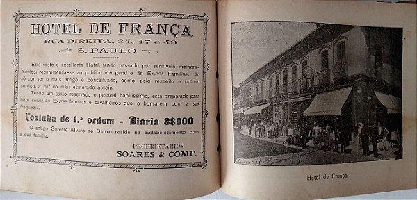 Antigo Álbum Artístico Comercial de São Paulo, 1900, 204 Páginas, 104 Imagens Fotográficas