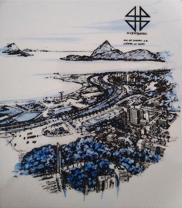 Rio Janeiro, Prato Antigo Imagem do IV Centenário, Aterro da Glória