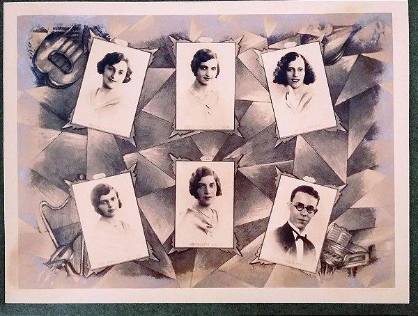 Fotografia - Álbum Conservatório Dramático e Musical de S. Paulo, 1930, Paraninfo Maestro João Gomes,
