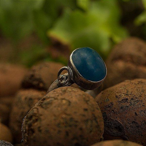 Anel Prata Mika (2 Opções de Pedra Disponíveis)