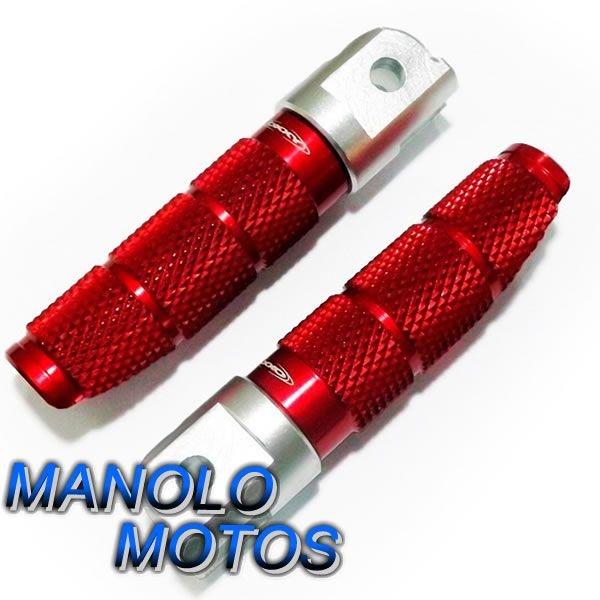 Pedaleira Esportiva Oxxy Piloto CB 300 (Vermelha)