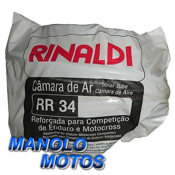 Câmara de ar Rinaldi RR 34 Reforçada para Moto Cross 5mm (450-18)
