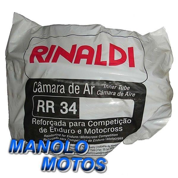 Câmara de ar Rinaldi RR 34 Reforçada para Moto Cross4mm (460-17)