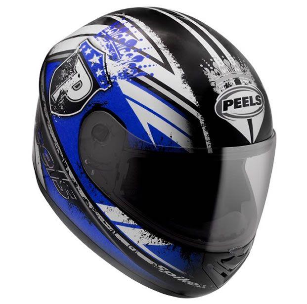 Capacete Peels Spike Thrones (Azul)