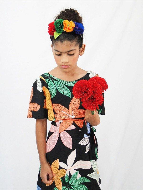 Vestido Frida Kahlo
