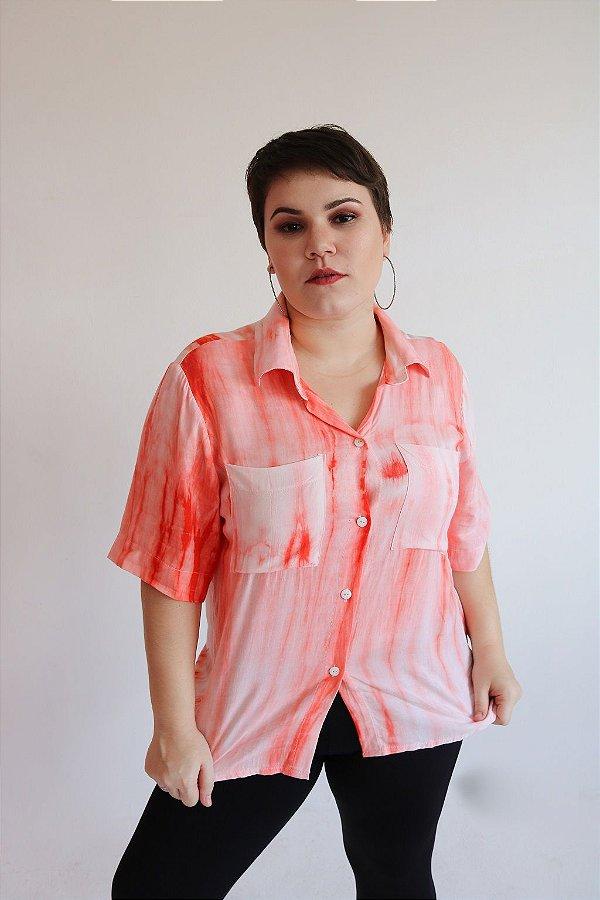 Blusão tie dye