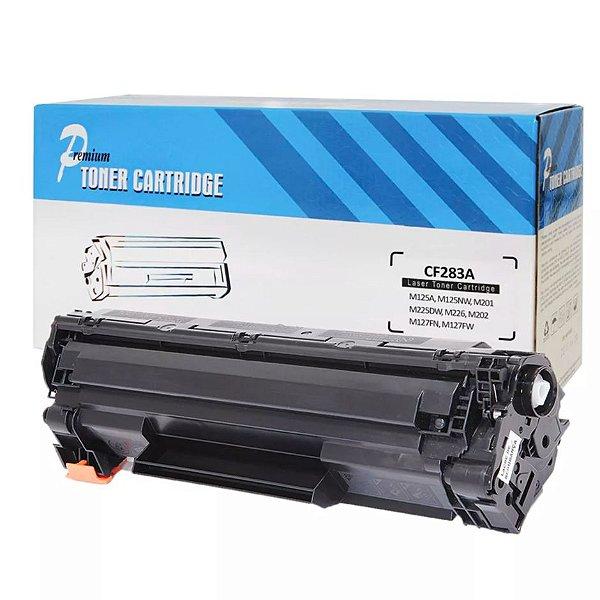 Toner Compatível HP 83A CF283A M125 M127 M201 M205 - PREMIUM