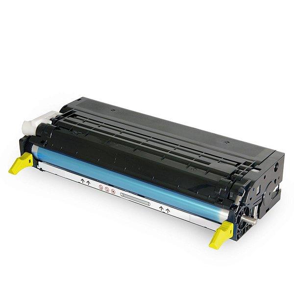 Toner Xerox Phaser 113R00721 Amarelo Compatível 6180 6180DN 6180N 6180MFP
