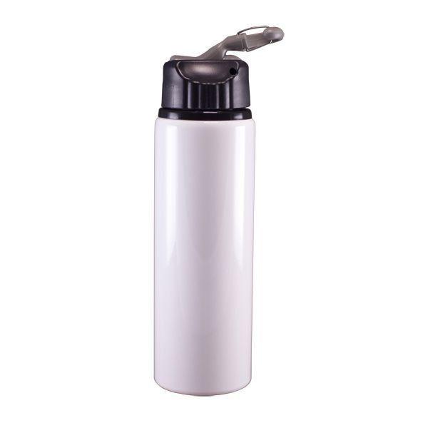 10 Squeezes de Alumínio 750ml - tampa com bico retrátil Sublimatico