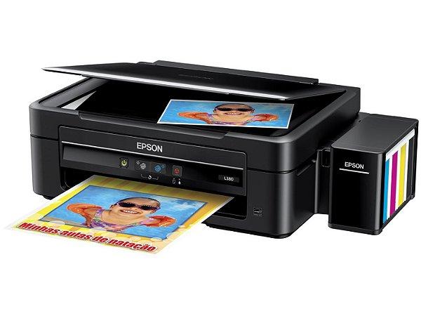 Impressora Sublimatica Epson EcoTank L380 + Kit de 400 com Tinta Sublimatica
