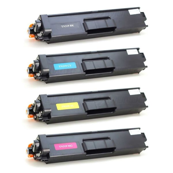 Kit 4 Toner Brother TN319 Compatível DCP-L8400 HL-L8350 MFCL8600CDW