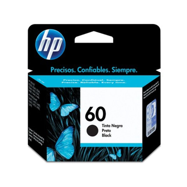 Cartucho HP 60 Preto Original CC640WB