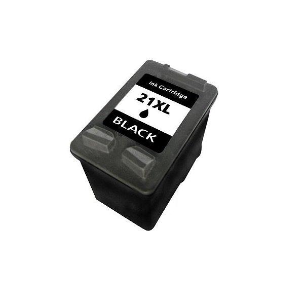 Cartucho Hp 21 Preto Compativel 20ml | C9351A 21XL 3920 J3680 F380 D2360