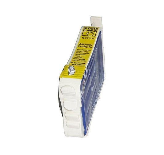 Cartucho Epson 133 T133420 Amarelo Compativel 15ml T25 TX125 TX235 TX320F TX420