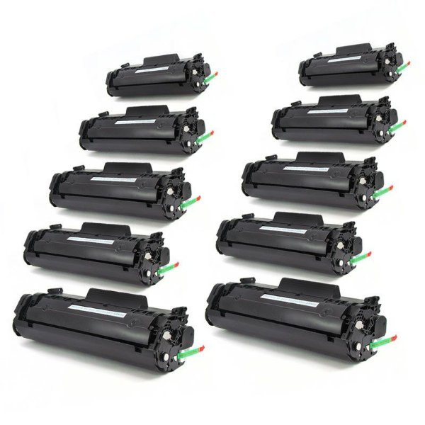 Kit 10 Toner HP 12A Q2612A Compativel Atacado