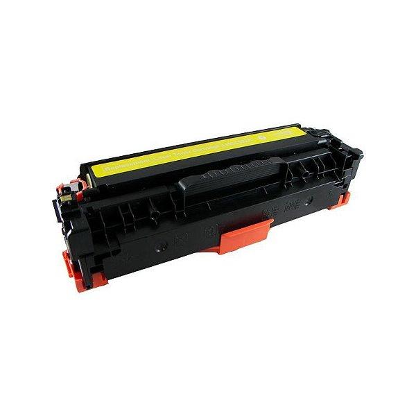 Toner Hp 304a CC532A Amarelo Compativel Laser CP2025 CM2320