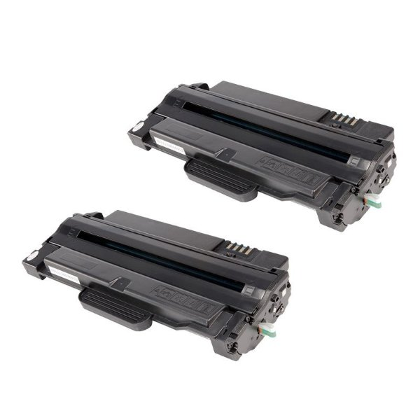 Kit com 2 Toner Samsung MLT-D105 Compativel ML1910 SCX4600 SCX4623