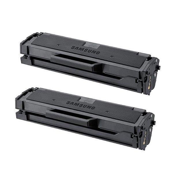 Kit com 2 Toner Samsung MLT-D101S Compativel ML2165 SCX3405