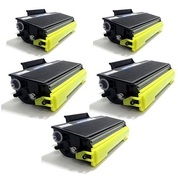 Kit com 5 Toner Brother TN650 Compativel TN-650 DCP8080 DCP8085 MFC8480 HL5350