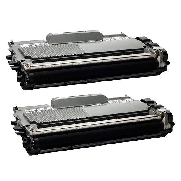 Kit com 2 Toner Brother TN-450 Compativel TN450 DCP7065 MFC7360 HL2240