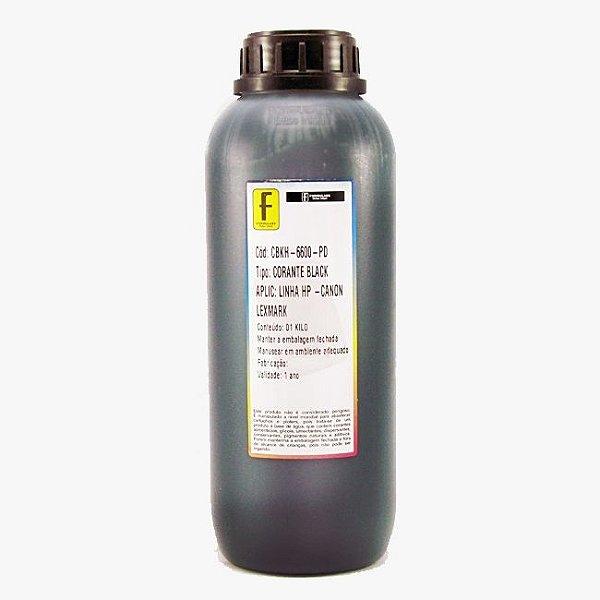 Tinta Formulabs HP Canon Lexmark IJD6600 Preta Corante para Hp 1 Litro