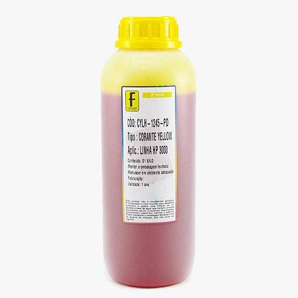 Tinta Formulabs HP IJD1245 Amarela Premium UV Serie Nova Hp 1 Litro