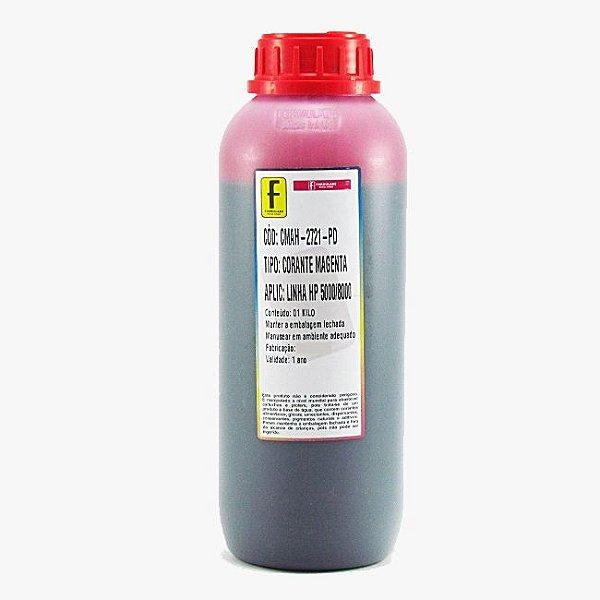 Tinta Formulabs HP Serie 8000 Corante Especifica IJD2721 Magenta 1 Litro