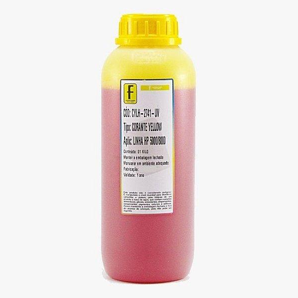 Tinta Formulabs HP Serie 8000 Corante Especifica IJD2741 Amarela 1 Litro