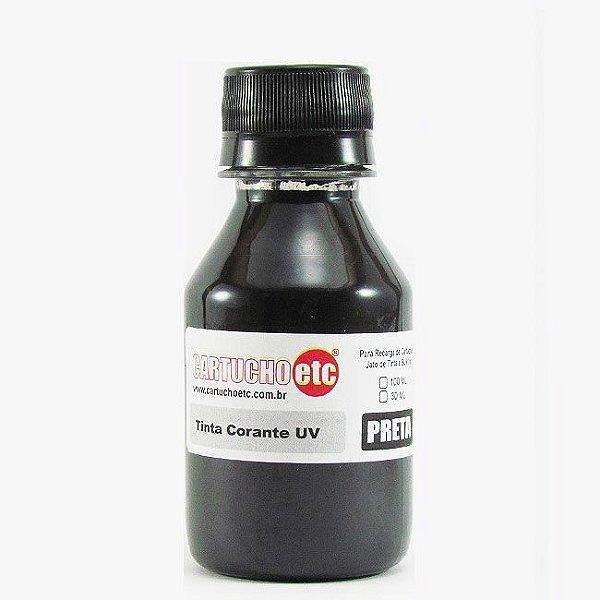 Tinta Formulabs Epson EPS7400 Preta Corante UV 100ml