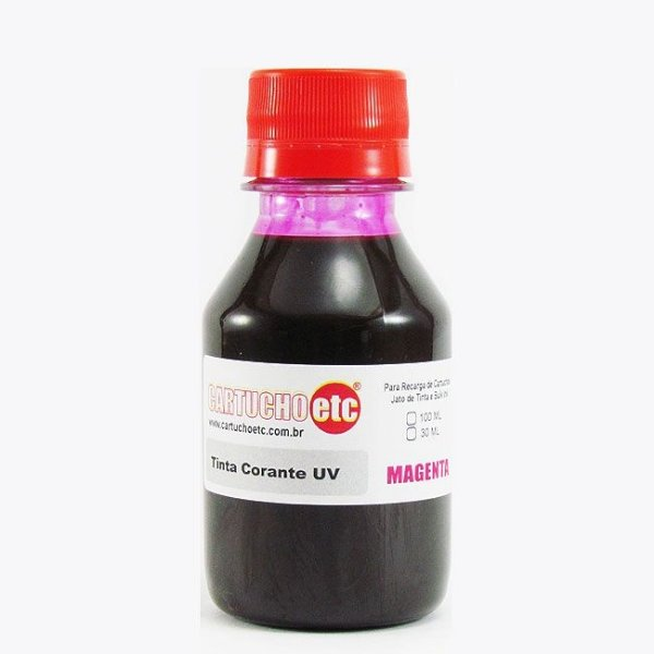 Tinta Formulabs Epson EPS4820 Magenta Corante UV 100ml