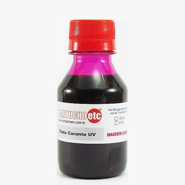 Tinta Formulabs Epson EPS4821 Magenta Claro Corante UV 100ml