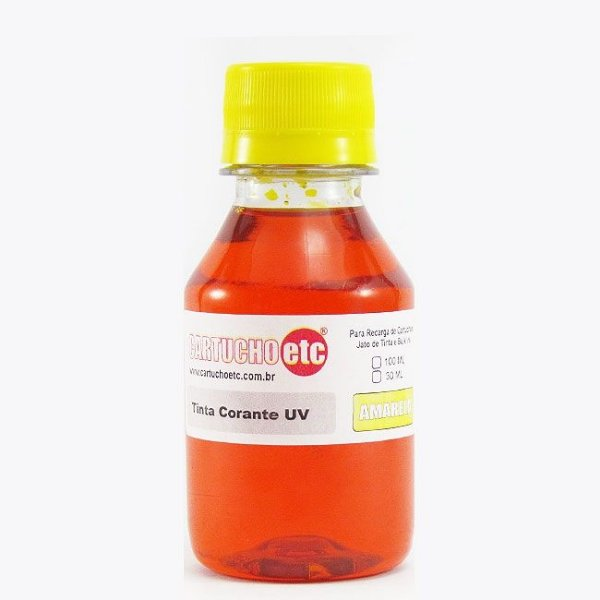 Tinta Formulabs Epson EPS4841 Amarela Corante UV 100ml