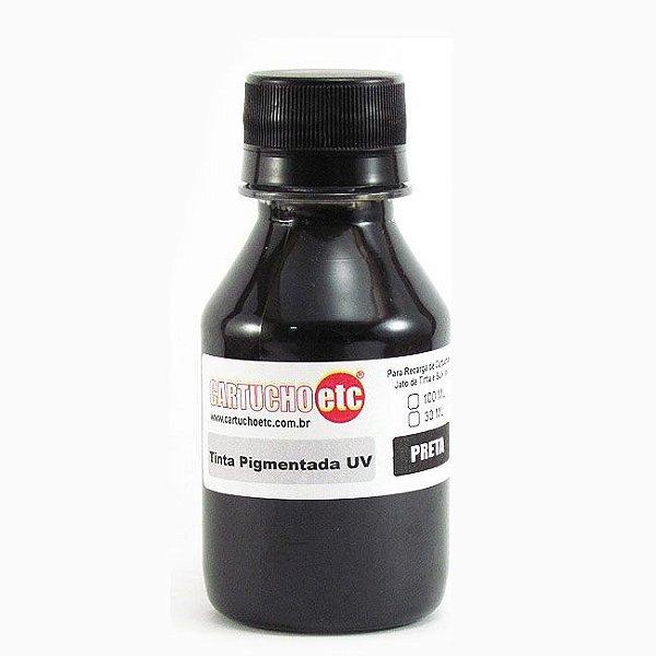 Tinta Inktec Pigmentada Epson E0007-01LB Preto 100ml Bulk Ink Transfer