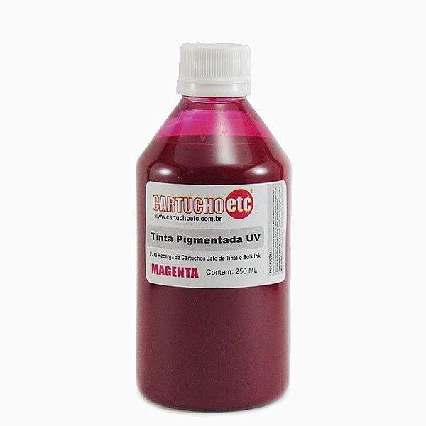 Tinta Inktec Pigmentada Epson E0007-01LM Magenta 250ml Bulk Ink Transfer