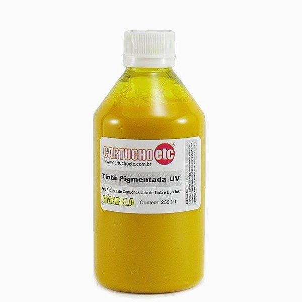 Tinta Inktec Pigmentada Epson E0007-01LY Amarela 250ml Bulk ink Transfer