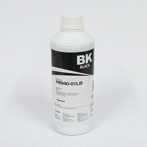 Tinta Inktec Pigmentada HP Serie 8000 H8940-01LB Preta 1 Litro