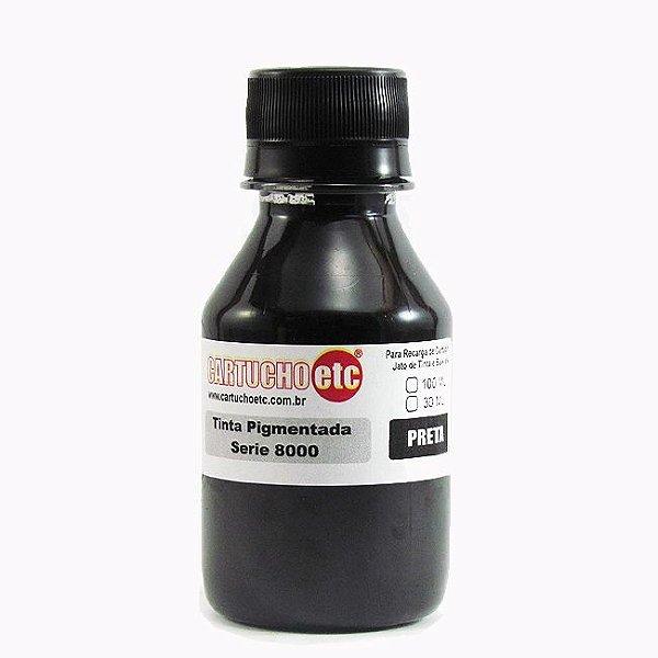 Tinta Inktec Pigmentada HP Serie 8000 H8940-01LB Preta 100ml