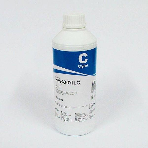 Tinta Inktec HP Serie 8000 Pigmentada H8940-01LC Ciano 1 Litro