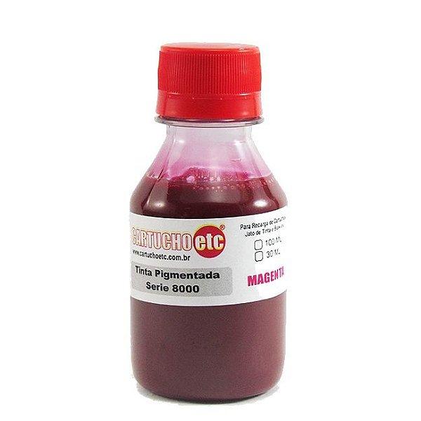 Tinta Inktec Pigmentada HP Serie 8000 H8940-01LM Magenta 100ml