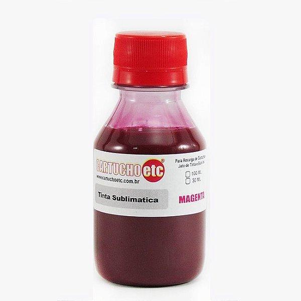 Tinta Sublimatica Inktec Magenta Epson Sublimação 100ml