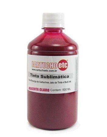 Tinta Sublimatica Inktec | Mizink UV Magenta Claro Epson para Transfer e Sublimação 1 Litro