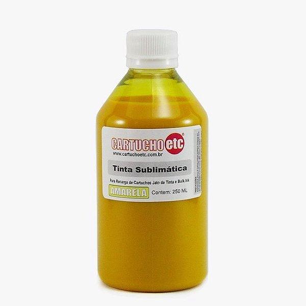 Tinta Sublimatica Inktec Amarela Epson Sublimação 250ml