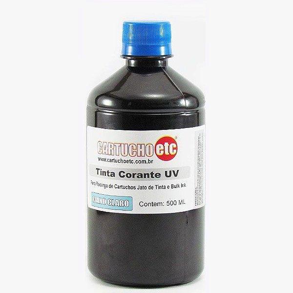 Tinta para Epson L800 Ciano Claro Corante UV Importada 500ml
