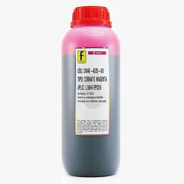 Tinta para Epson L110 L200 L355 L800 Magenta Corante UV Importada 1 Litro