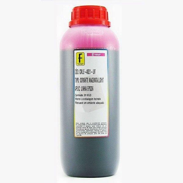 Tinta para Epson L800 Magenta Claro Corante UV Importada 1 Litro | Light