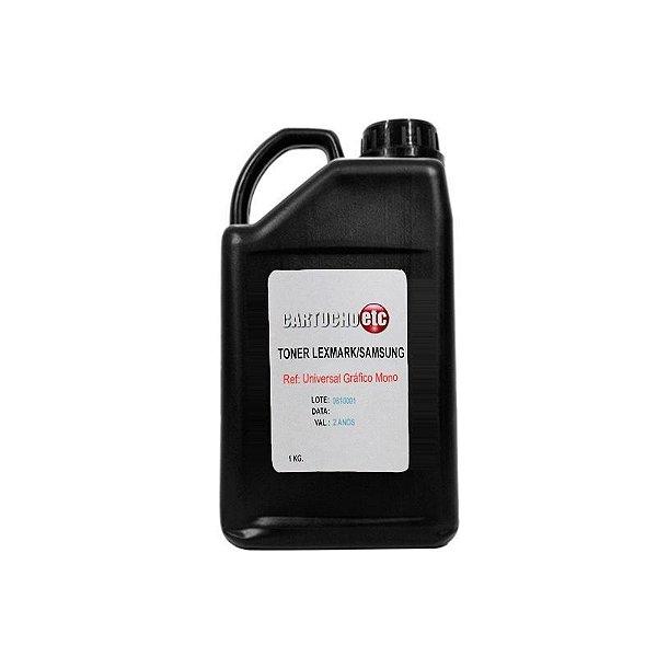 Refil de Toner Laser Samsung Premium ML-1710 ML1710 1 KG