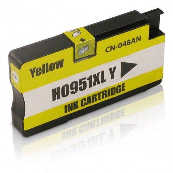 Cartucho Hp 951 XL Amarelo 8100 8600 951XL CN048A Compativel